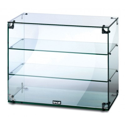 GC36- Lincat Seal Glass Display Cabinet With Open Back