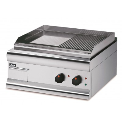 GS6/T - Lincat Half Ribbed Griddle
