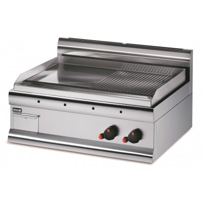 GS7/R - Lincat Half Ribbed Dual Zone Griddle