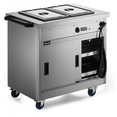 P6B2 Lincat Hot Cupboard - Bain Marie Top