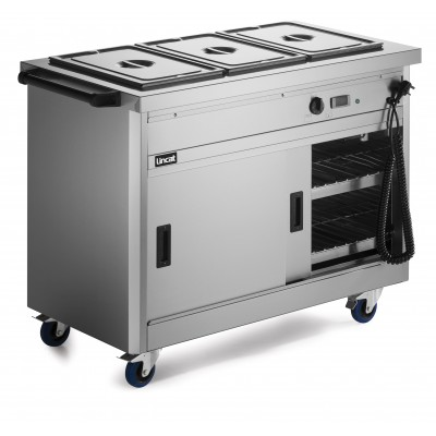P6B3 Lincat Hot Cupboard - Bain Marie Top