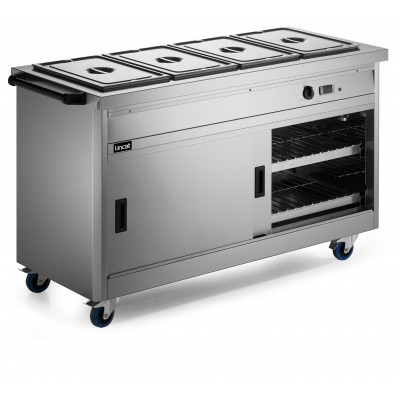 P6B4 Lincat Hot Cupboard - Bain Marie Top