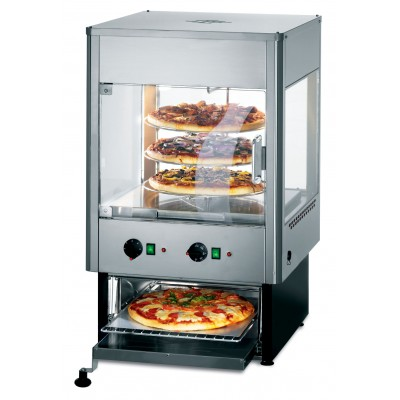 UMO50D ? Lincat Seal Upright Heated Merchandiser with Oven