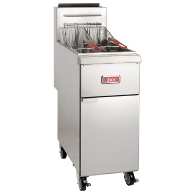 GL166-N Thor 25 Litre Natural Gas Heavy Duty Fryer
