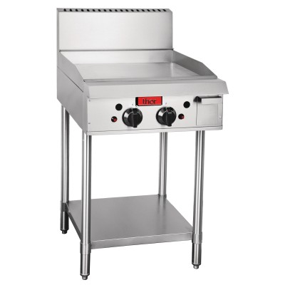 GL167-N Thor Natural Gas 2 Burner Griddle