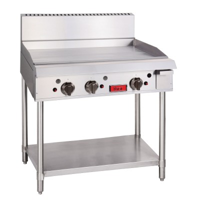 GL168-N Thor Natural Gas 3 Burner Griddle