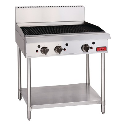 GL171-N  Thor Natural Gas Freestanding 3 Burner Chargrill