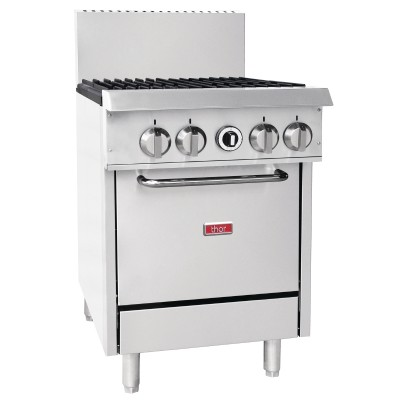GL172-N Thor 4 Burner Natural Gas Oven