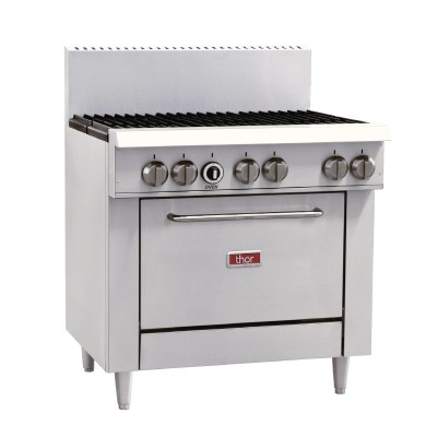 GL173-N Thor 6 Burner Natural Gas Oven