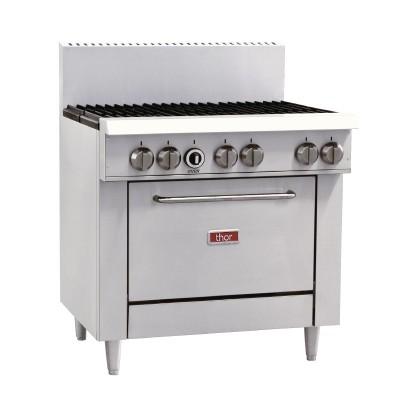 GL173-P Thor 6 Burner LPG Oven