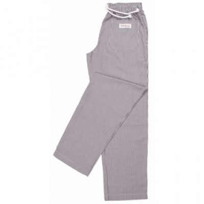 Easyfit Pants - Small Blue Check