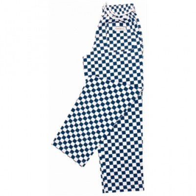 Easyfit Pants - Big Blue Check