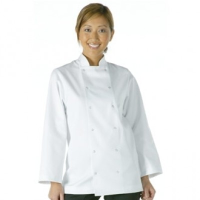 Vegas Chefs Jacket - White