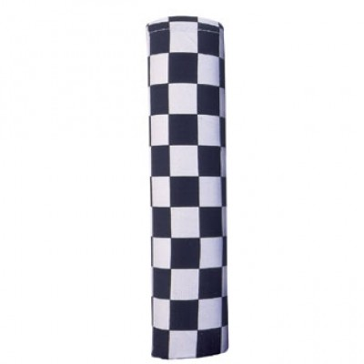 Big Black and White Check Neckerchief