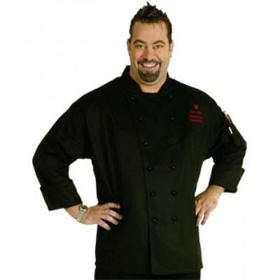 Monaco Executive Chefs Jacket Black