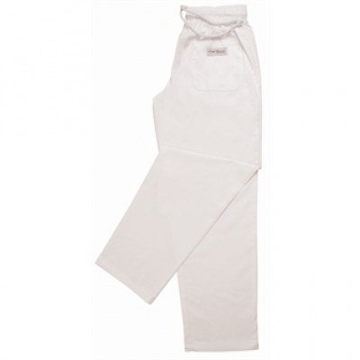 Easyfit Pants - Plain White