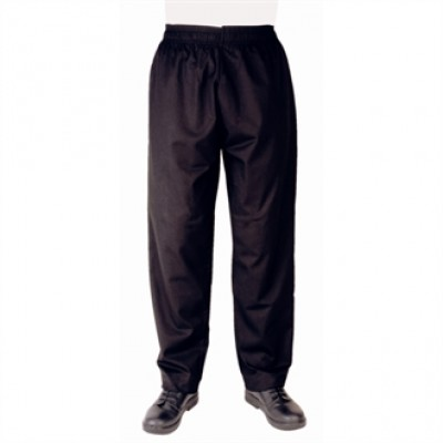 Vegas Black Chefs Trousers