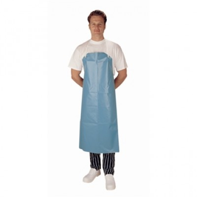 Heavy Duty PVC Nylon Bib Apron - Green