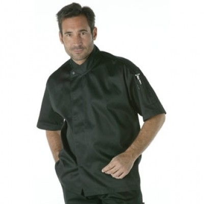 CoolVent Executive Short Sleeve Chefs Jacket