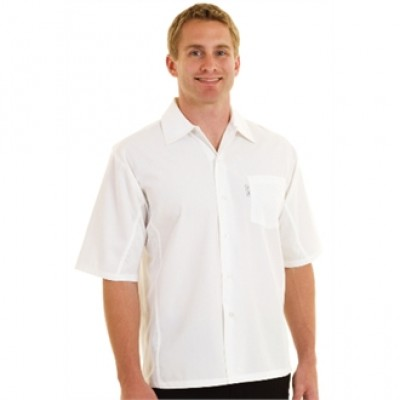 CoolVent Chefs Shirt - White