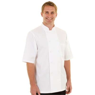 Montreal Basic CoolVent Chefs Jacket - White