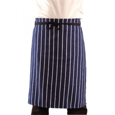 Butchers Navy Stripe Apron