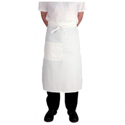 Regular White Bistro Apron
