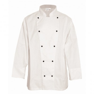 Whites Chicago Long Sleeve Chef Jacket - White