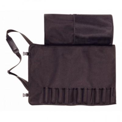 Dick Black Textile Roll Bag & Strap