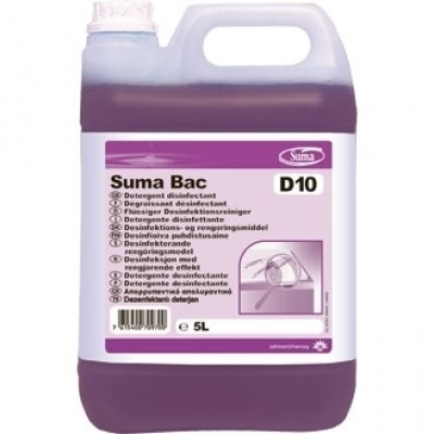 Suma Bac D10 Cleaner & Sanitiser