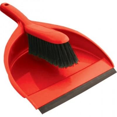 Jantex Soft Dustpan & Brush Set