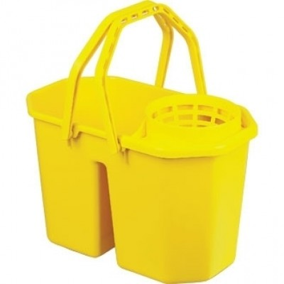 Jantex Colour Coded Twin Mop Buckets