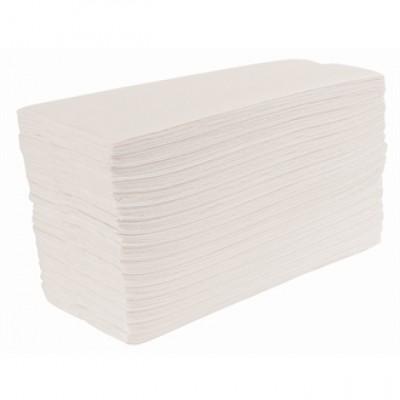 Jantex White C Fold Hand Towels