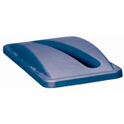 Rubbermaid Blue Paper Lid