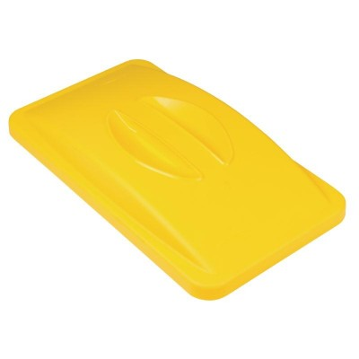 Rubbermaid Yellow Lid with Handle