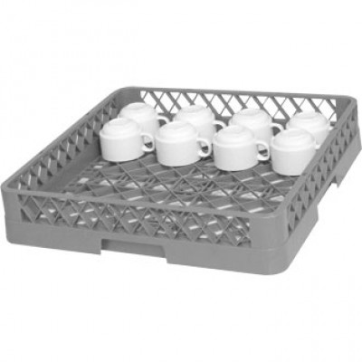 Vogue Dishwasher Rack - Open Cup