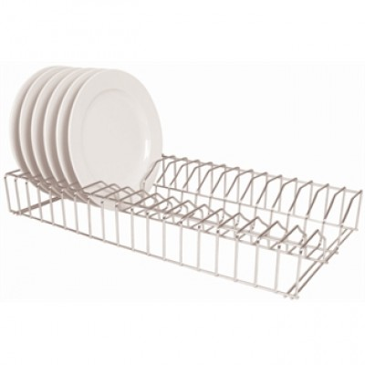 Vogue Stainless Steel Plate Racks