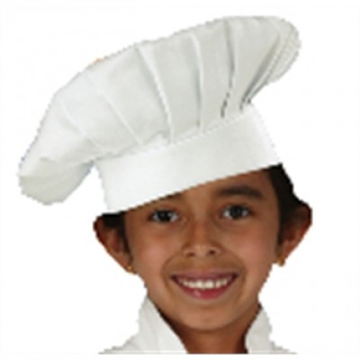 Kids Chef Hat - White