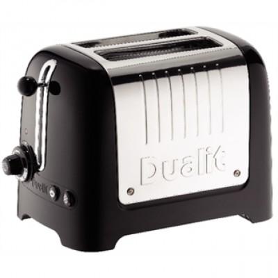 26205 Dualit Lite Toaster  2 Slice - Black