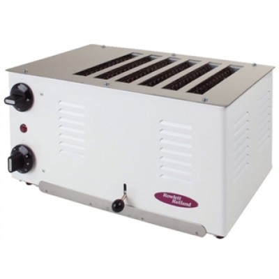 Rowlett Rutland Regent 6 Slot Toaster - White