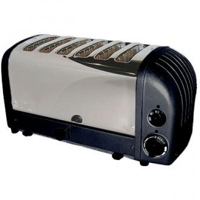 60145 Dualit 6 Slot Bread Toaster - Black