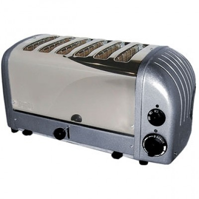 60156 Dualit 6 Slot Bread Toaster - Charcoal