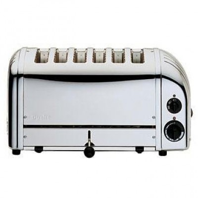 60144 Dualit 6 Slot Bread Toaster - Stainless Steel