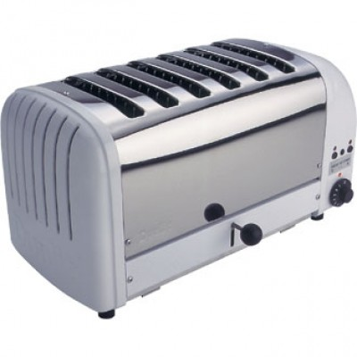 60146 Dualit 6 Slot Bread Toaster - White