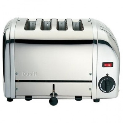 40352 Dualit Commercial 4 Slot Chrome Bread Toaster