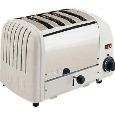 40355 Dualit 4 Slot Bread Toaster - White