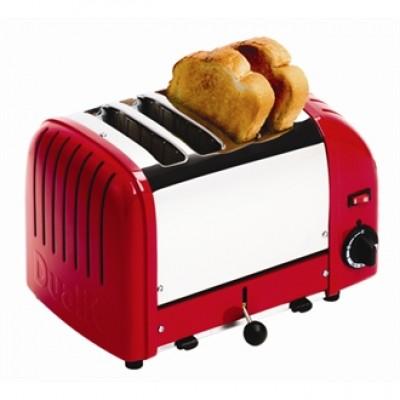 40353 Dualit 4 Slice Vario Red Toaster