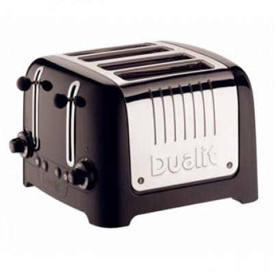 46205 Dualit 4 Slice Lite Black Toaster
