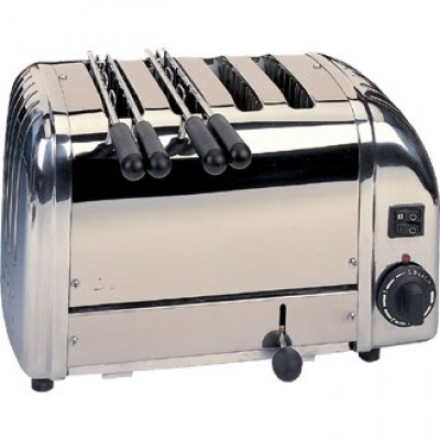 42174 2+2 Dualit Combi Toaster - Stainless Steel