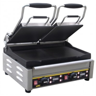 Buffalo L553 Double Contact Grill - Flat Plates